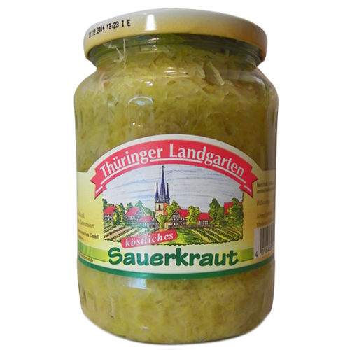 th ringer landgarten sauerkraut 720ml glas. Black Bedroom Furniture Sets. Home Design Ideas